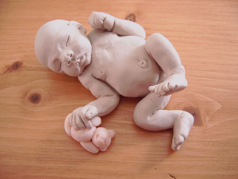 La nurserie de maddy pate polymere - Bebe en pate fimo ...
